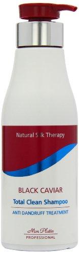 Mon Platin 500ml Natural Silk Therapy Black Caviar Total Clean Shampoo Anti-Dandruff Treatment