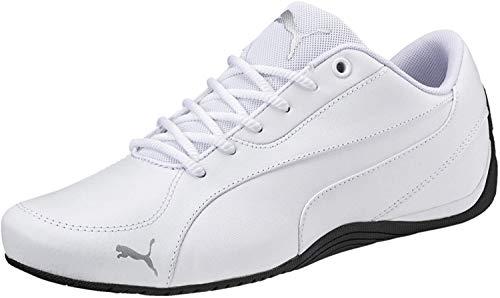PUMA Unisex Drift Cat 5 Core Sneakers, White, 43 EU