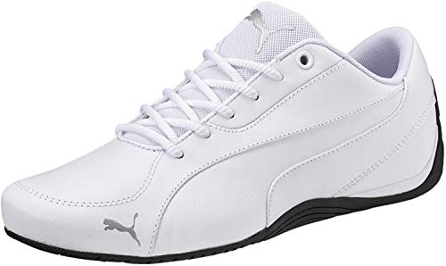 PUMA Puma Unisex Sneakers Drift Cat 5 Core – Flache Turnschuhe für Damen und Herren im coolen Motorsport-Style Drift Cat 5 Core Puma White UK 11_Adults_FR 46