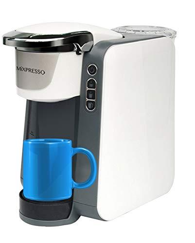 Mixpresso - Cafetera de una sola serie con forma de K para café, compatible con la mayoría de tazas de café de 1 y 2,0 K, tecnología QuickBrew y depósito de agua extraíble de 45oz