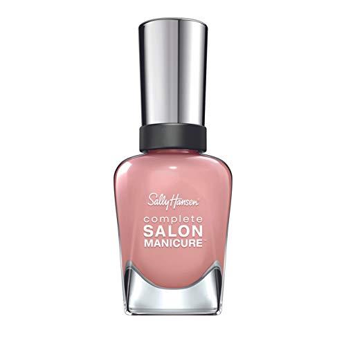 Sally Hansen Complete Salon Manicure Nagellak, 242 Mauvin' on Up/verzorgend, helder roze, 15 g