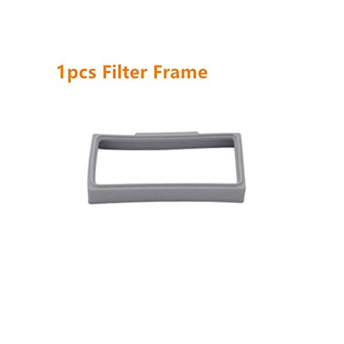 Saugroboter Ersatzteile Staubbox HEPA Filterrahmen Gummidichtungen Pre Filter Net for Proscenic 790T Roboterstaubsauger Ersatzteil Zubehör Staubbehälter Ersatz (Color : Lavender)