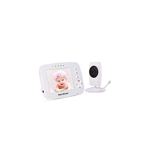 Baby Monitor, Video Baby Monitor Wireless Night Vision Dual View Video,  Newborn Ba