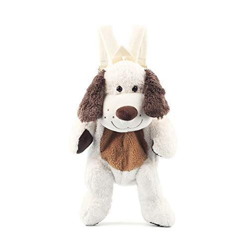 wqmdeshop Plush Toys 40Cm Cute Plush Dog Backpack Japanese Kawaii Dog Backpack Stuffed Toy Children School Bag Gift Kids Toy For 3-6 Little Girl
