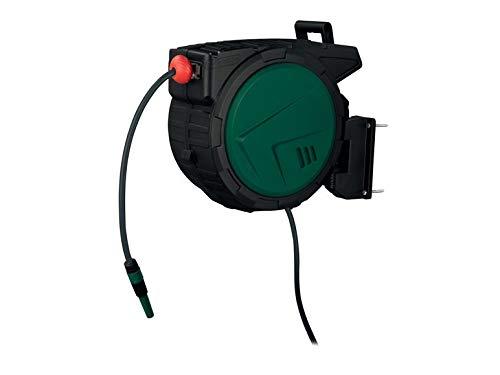 Enrollador de manguera de agua PSA25 B1 25 m manguera de jardín con enrollado automático