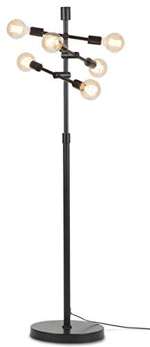 It's about RoMi Nashville vloerlamp, ijzer, 40W, E27