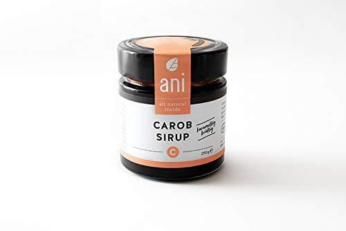 BIO Carob Sirup 250g ( Johannisbrot Sirup ) 100% natürlich, vegan, laktosefrei, glutenfrei