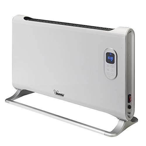 bimar HC506 Termoconvettore Elettrico WiFi Smart, Stufa elettrica Intelligente da Appoggio o Parete, Stufa Elettrica Basso Consumo, Compatibile con Alexa, Google Assistant, Supporta IFTTT, 2 Potenze
