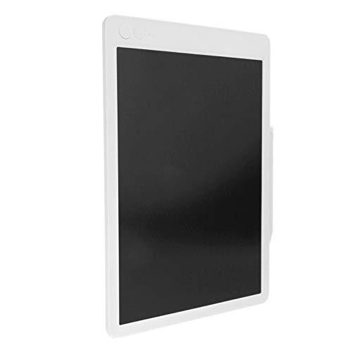 Tablero de Dibujo Tableta de Escritura electrónica, Carcasa de ABS de 13,5 Pulgadas para el hogar/Escuela/Oficina Regalo de Juguetes de Aprendizaje para niños y(White Monochromatic Font)