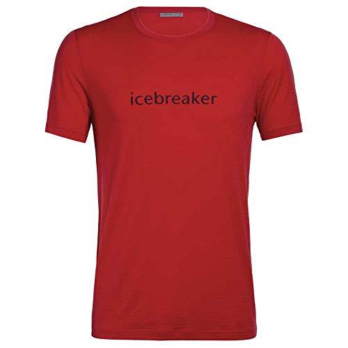 Icebreaker Herren T-Shirt Merino Logo Crewe - S