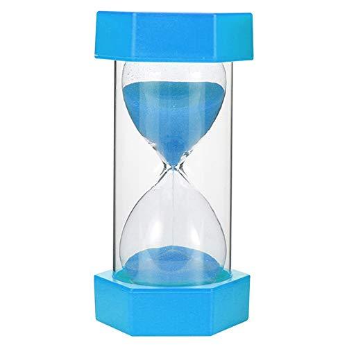 FUNRE 5/10/15/20 / 30min Sanduhr Sanduhr Sand Clock Egg Küchenuhr Zubehör Kid Spiel Geschenk Reloj De Arena (Color : Sky Blue, Time : 10min)