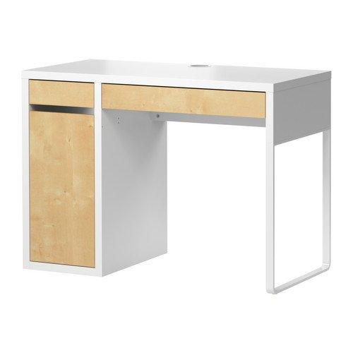 MICKE デスク,ホワイト,バーチ(IKEA) 301.800.52の写真