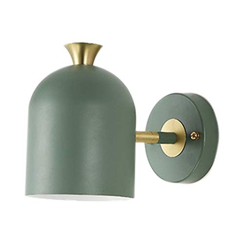 Beada Moderna sencillez lámpara de pared en estilo nórdico, 5 W, habitaciones, comedor, dormitorio, habitación infantil, trabajo, color verde claro