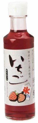 中村商店 かき氷用シロップ いちご 200ml