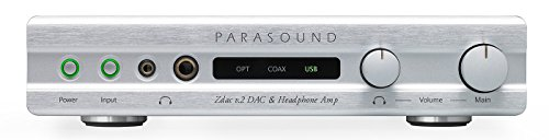 Parasound Zdac V2 Digital to Analog Converter - Silver
