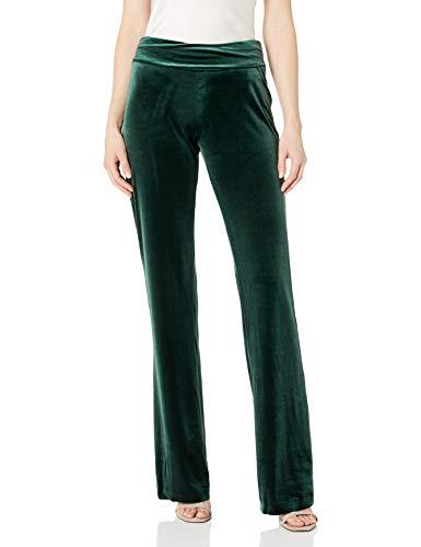 Norma Kamali - Pantalón de bota para mujer - Verde - X-Large