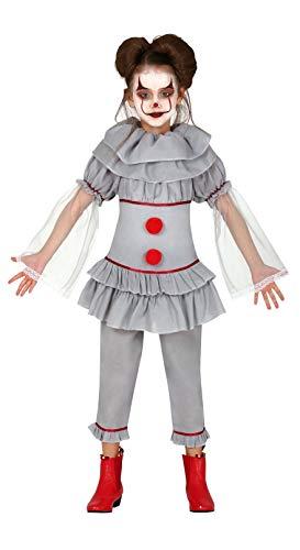 Fiestas Guirca Costume Clown assassina Pagliaccio Cosplay Bambina