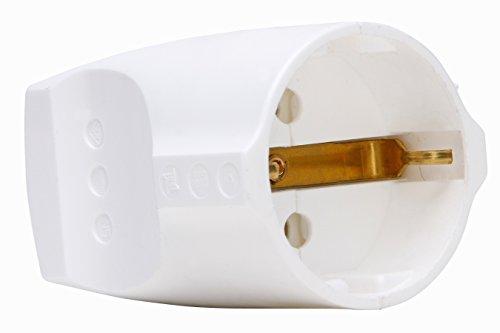 Kopp 183229001 Schutzkontaktkupplung reinweiß, rein-weiß