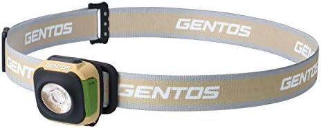 GENTOS(ジェントス) LED ヘッドライト USB充電式 【明るさ260ルーメン/実用点灯2時間/防滴】 充電池内蔵 オータムブラウン CP-260RAB ANSI規格準拠
