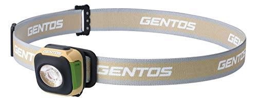 GENTOS(ジェントス) LED ヘッドライト USB充電式 【明るさ260ルーメン/実用点灯2時間/防滴】 充電池内蔵 CP-260R ANSI規格準拠