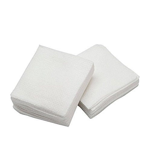 R Tee Ultra Soft Non Woven Disposable Face Cleaning Cloth, Beauty Towel, Dry Wipe, Durable for Cleansing, Facial, Makeup Removal, Multipurpose Tissue Napkin (50 Sheets/Pack-6×6 Inches)- Pack of 2