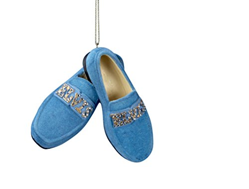 Elvis Presley Blue Suede Shoes CHRISTMAS ORNAMENT New by Kurt Adler