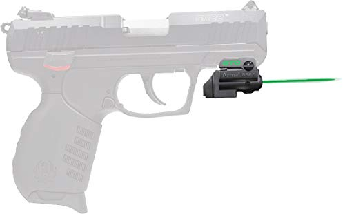 ArmaLaser Designed to fit Ruger SR22 GTO Green Laser Sight and FLX48 Grip Switch