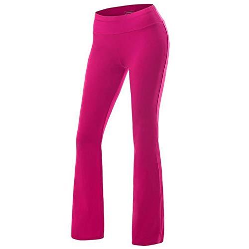 Hhckhxww SeñOras Deportes De Ocio Ejercicio Yoga Pantalones para Correr Pantalones