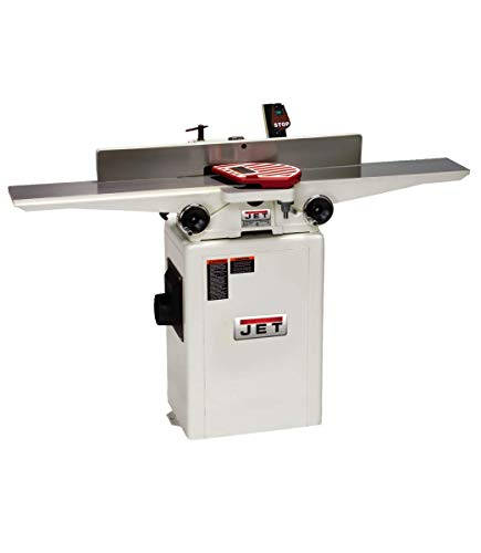 JET JJ-6HHDX 6' Long Bed Wood Jointer with Helical...