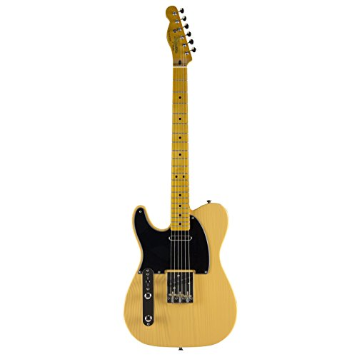 Squier Classic Vintage Left-Handed '50s Telecaster Electric Guitar Butterscotch Blonde