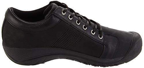 KEEN 1002990, Chaussure de randonnée Homme, Noir, 44.5 EU
