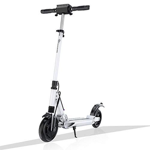 Patiente eléctrico GeekMe Patinete Eléctrico Scooter Eléctrico hasta 30 km/h | Scooter Eléctrico PlegableBatería Li-Ion 7,5 A | con Pantalla LCD | Carga máxima 120 kg para Adultos y Niños