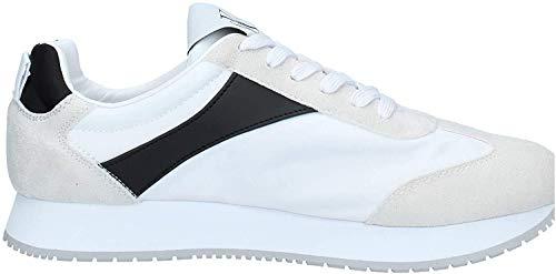 Calvin Klein Jeans S0615 Jerrold Low Top Lace Up White - S0615102, Beige - weiß - Größe: 44 EU