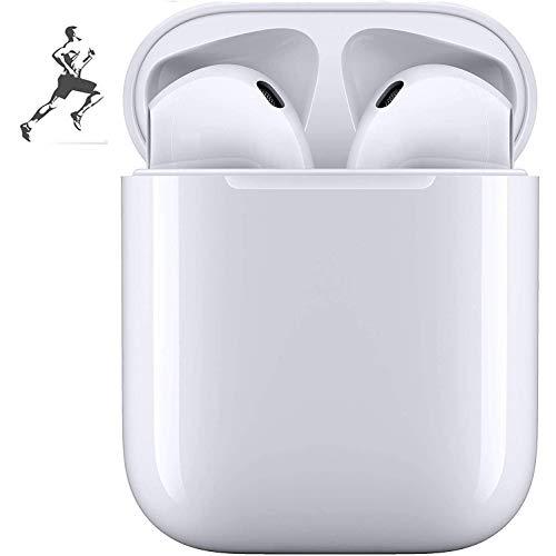 Bluetooth-Headset 5.0, drahtloses Touch-Headset, IPX5 wasserdichte,Stereo-In-Ear-Sport-Headset mit Ladebox, integriertes 3D-Mikrofon mit geeignet fürAndroid/iPhone/Samsung/Apple AirPods Pro