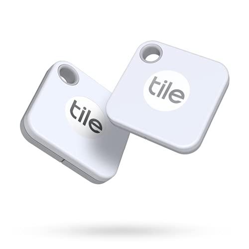 Tile Mate (2020) 2-Pack -Bluetooth Tracker, Keys Finder and Item...
