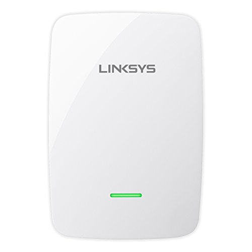 Linksys WLAN Repeater (300 Mbit/s, WPS, Lan Port), wit N600 + audio wit
