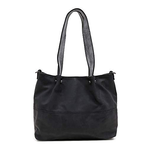 Maestro - Surprise bag in bag - 3 in 1 Shopper schwarz/anthrazit, 299.108H