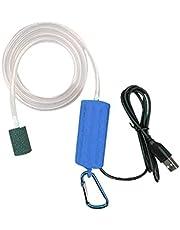 Hosuho Mini USB akwarium pompa tlenowa przenośna cichy kompresor powietrza aerator energooszczędne materiały do akwarium akcesoria wędkarskie