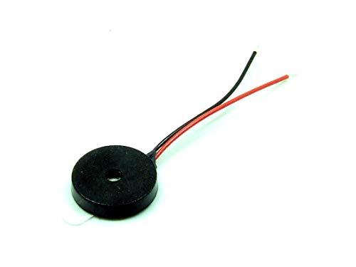 POPESQ® 1 Stk. x Buzzer mini Signalgeber Selbstklebend 10mm Piezo #A3203