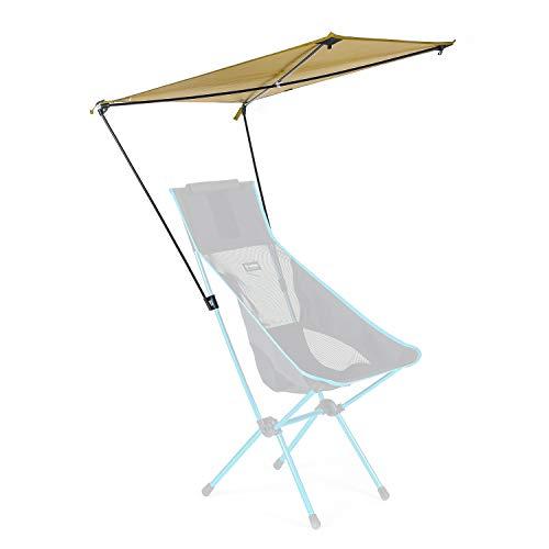Helinox Toldo para silla con toldo de color marrón coyote