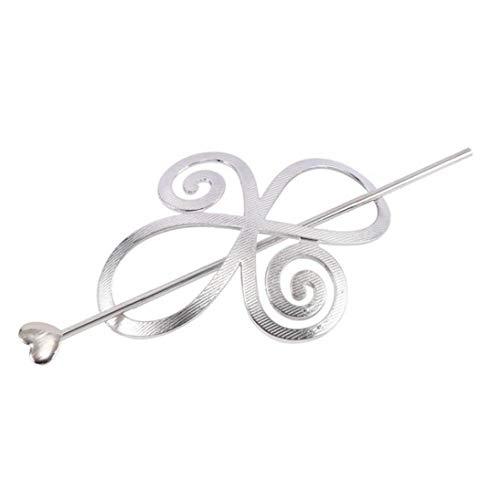 BYFRI 1 st Mode Mooie Prachtige Vrouwen Haaraccessoires Haarspeld Barrette Lady Lange Haar Glijbaan Clip Sjaal Pin Houder