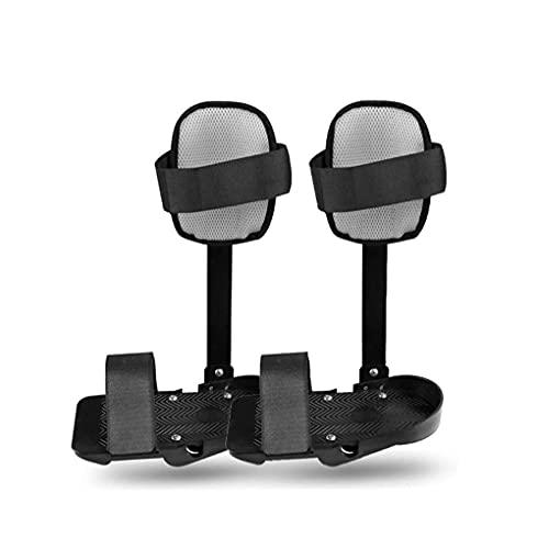 Ejercitador de pedal para bicicleta debajo del escritorio, soporte de pierna para entrenador motorizado de pedal electrónico, soporte de fijación de extremidades inferiores para fisioterapia