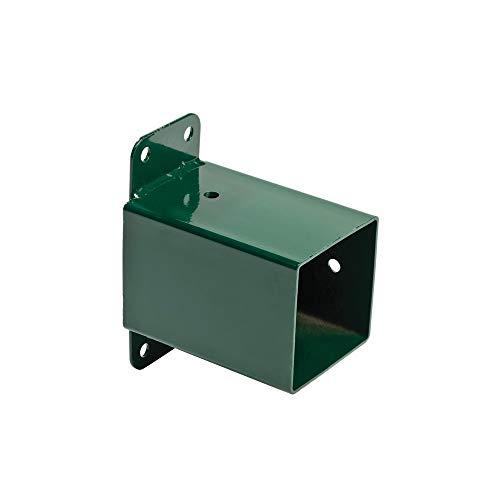 h2i Schaukelverbinder Schaukel-Wandverbinder Vierkant 90/90 mm Grün