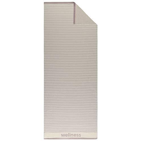 Egeria Saunatücher Limo Titanium, Saunatuch 75x200 cm