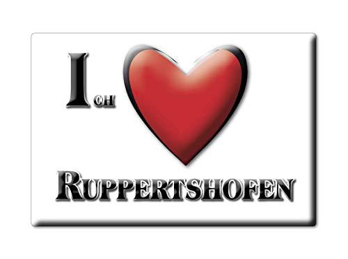 Enjoymagnets RUPPERTSHOFEN (BW) Souvenir Deutschland Baden WÜRTTEMBERG Fridge Magnet KÜHLSCHRANK Magnet ICH Liebe I Love