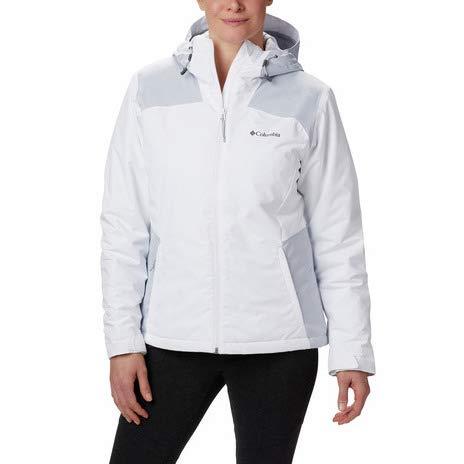 Columbia Damen Tipton Peak Insulated Jacket Jacken, Fjord Blau, Blau Canyon, L
