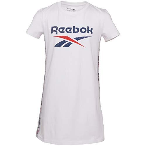 Reebok Mädchen Kleid Big Intl Classic 4XL weiß