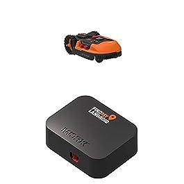 WORX – Tondeuse Robot connectée sans Fil LANDROID – WR147E.1 – jusqu'à 1000m² + Module Find My Landroid Tracker GPS…