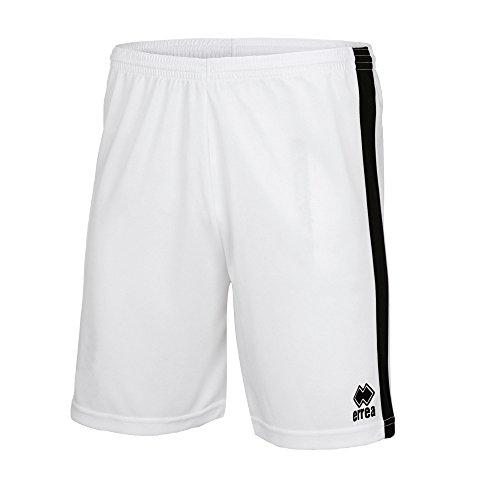BOLTON Trainingshose (kurz) · UNISEX Sporthose mit Kontraststreifen Größe M, Farbe weiß-schwarz, Farbe weiß - schwarz