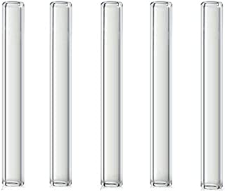 4 inch Long 5 Piece Pyrex Glass Tubes 12 mm OD 1.5 mm Thick Wall Tubing Borosilicate Blowing Tubes